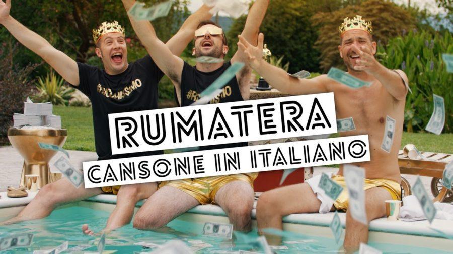 RUMATERA – CANSONE IN ITALIANO